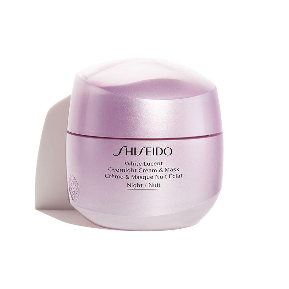 Shiseido - Kem dưỡng và mặt nạ ban đêm White Lucent Overnight Cream & Mask